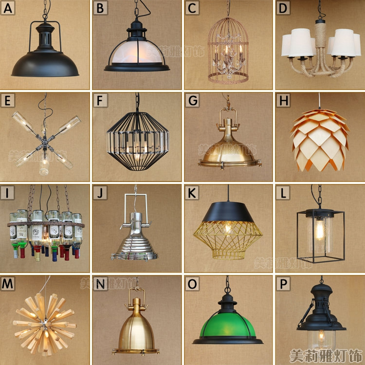 vintage pulley pendant lights loft style light kitchen dining room lampara light fixtures Nordic retro light Spider pendant lamp vintage industrial pendant lights iron loft style light dining room luminaire lampara pully retro bar coffee shop pendant lamp