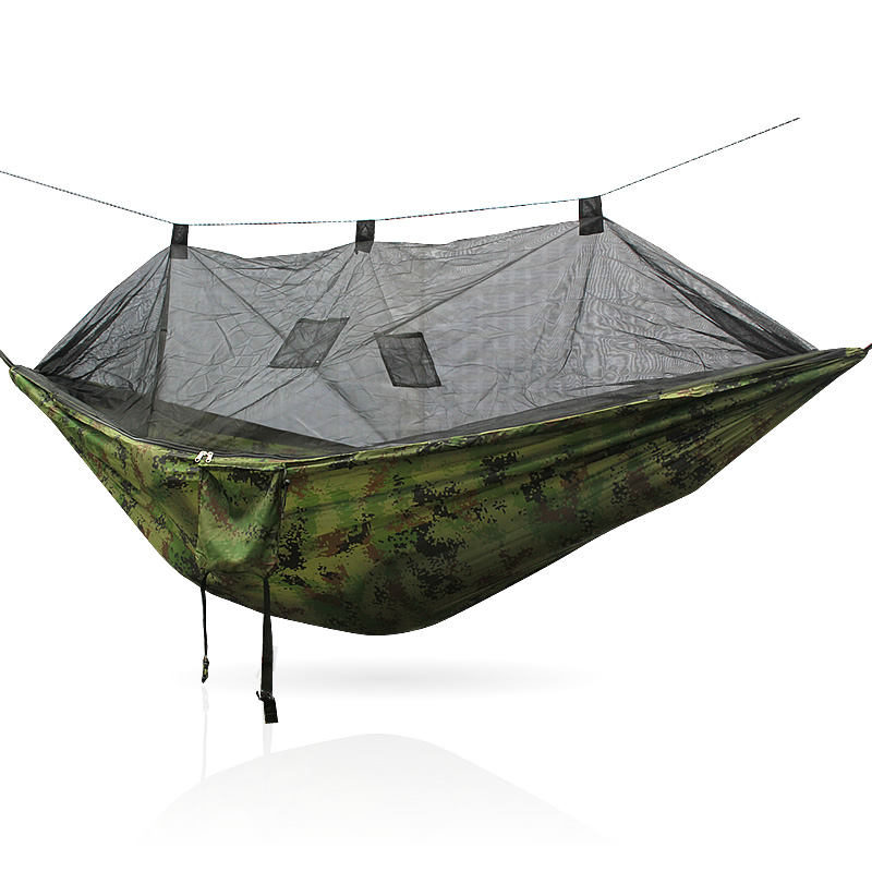 Rede De Mosquito Garden Hammock Swing Portable Parachute Hammock