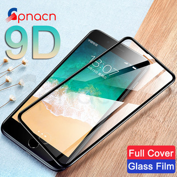 9D Aluminum Alloy Tempered Glass on the For iPhone X XR XS Max iPhone 8 6 6S 7 Plus 5 5S SE Screen Protector Protective Glass Phone Screen Protectors