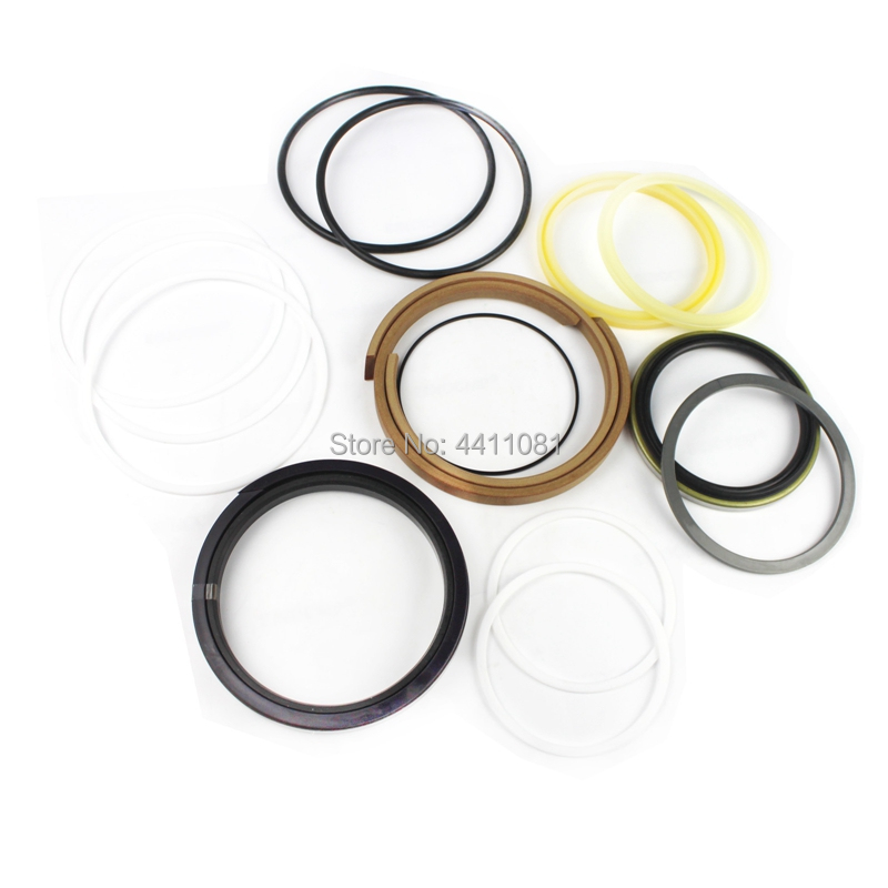 цена на 2 sets For Komatsu PC120-5 -6 PC130-5 -6/PC12 Boom Cylinder Repair Seal Kit 707-98-37620 Excavator Service Kit, 3 month warranty
