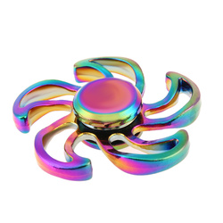 Metal fidget spinner flower shaped edc hand spinner for autism adhd anti stress reliever desk focus.jpg 250x250