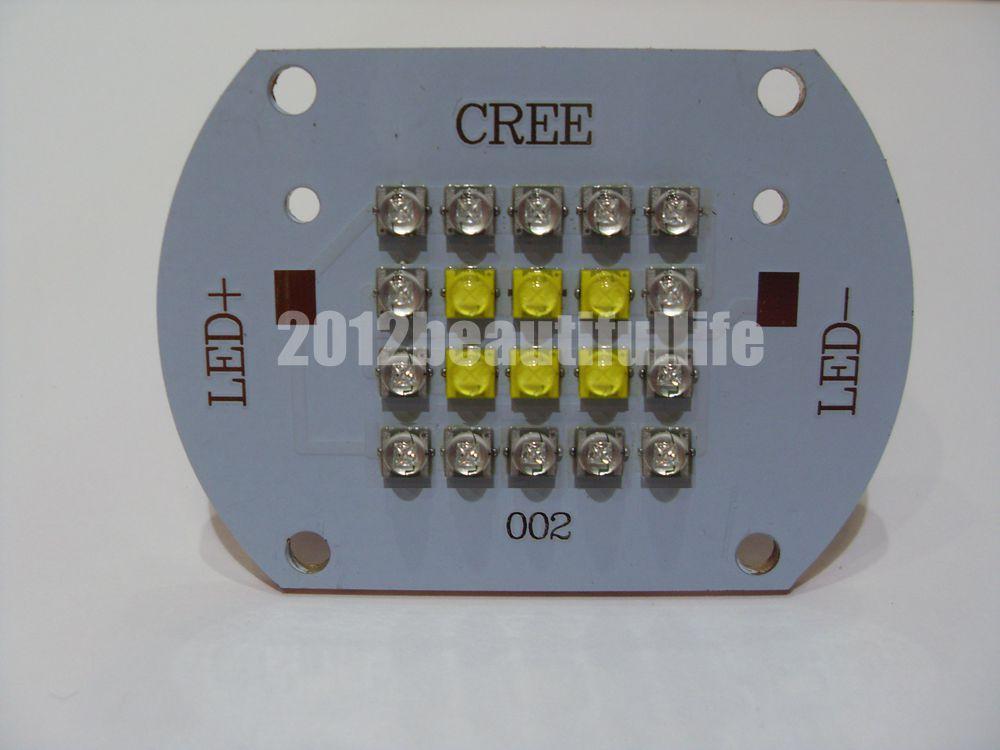 CREE XTE 100w Acuario Arrecife DIY Led de alta potencia en cobre PCB Foco Led de trabajo cob 8000LM lámpara recargable uso 2*18650 batería led luz magnética portátil gancho clip impermeable