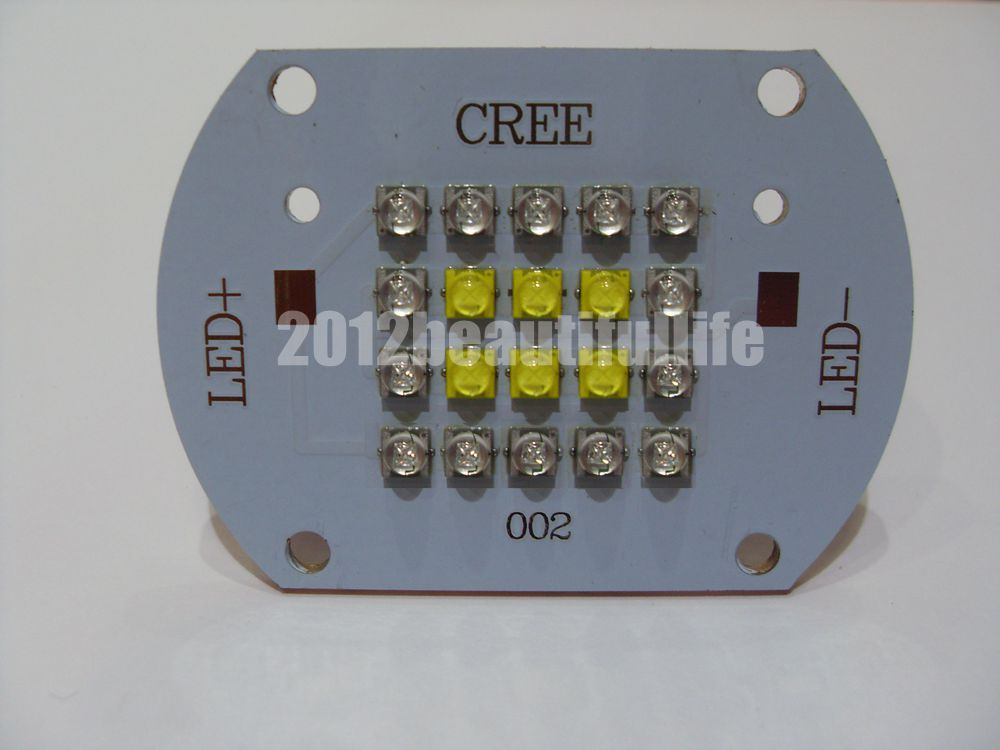 CREE XTE 100w Aquarium Reef DIY High Power Led On Copper PCB