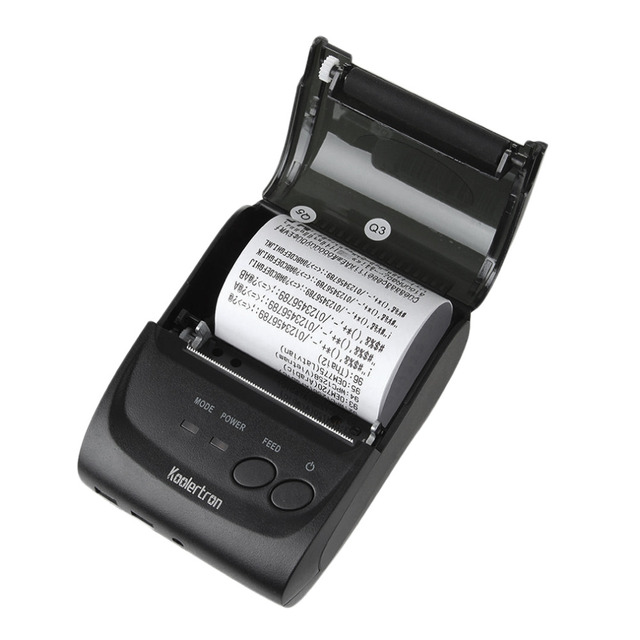 58 мм Портативный Bluetooth 4.0 Беспроводной Получения Тепловой Принтер Интерфейс USB Для Android PC Черный США Plug