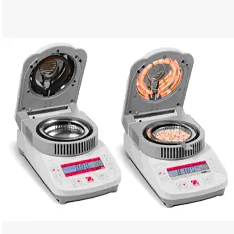 Пятно Ohaus анализатор влажности влаги Тесты аппарат mb35