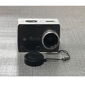 Image 5 - Chống Thấm Nước Bảo Vệ Vỏ Trong Suốt Siêu Mỏng Ốp Lưng Có Nắp Ống Kính Dành Cho Xiaomi Yi 4K Camera Hành Động 2 II Phụ Kiện