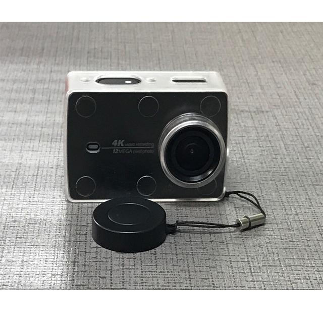 Transparent Plastic Camera Case