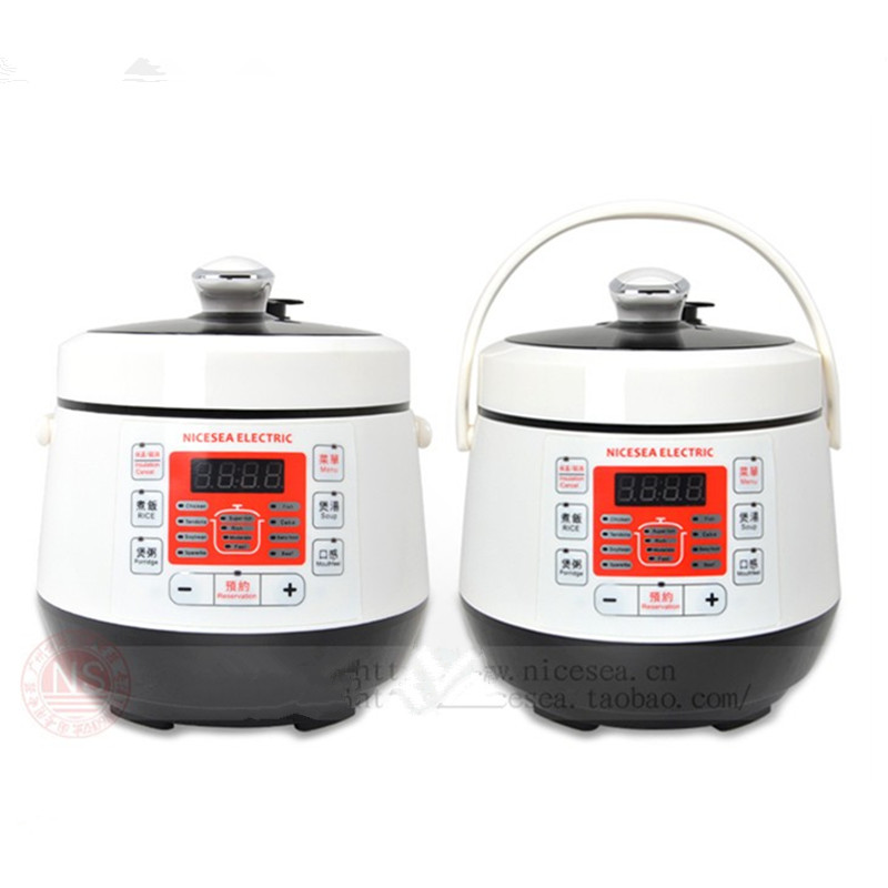 110V 700W Mini 2L Household Intelligent Electric Rice Cooker Microcomputer Control Multifunctional Electric Rice Cooker smart mini electric rice cooker small household intelligent reheating rice cookers kitchen pot 3l for 1 2 3 4 people eu us plug