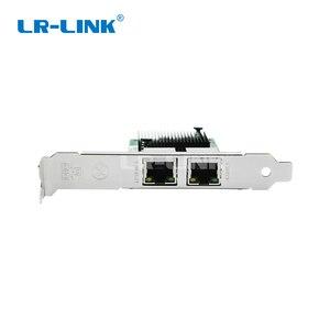 Image 3 - LR LINK 9222HT Intel I350 T2 Compatible Gigabit Ethernet Dual RJ45 Port Lan Adapter PCI Ex1 Network card 10/100/1000Mbps For PC