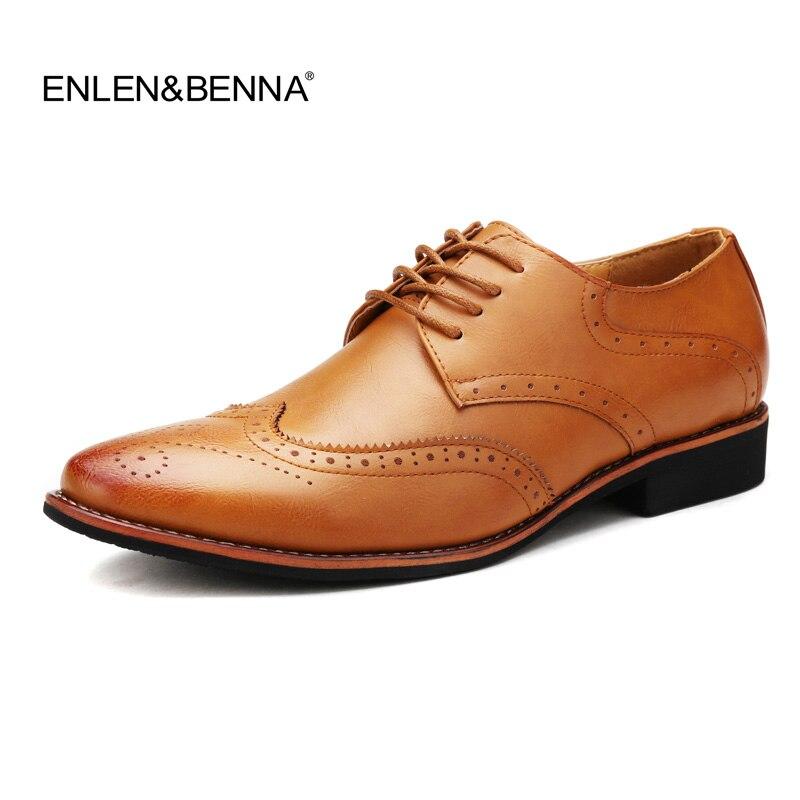 Hommes Chaussures En Cuir De Luxe Designer Bout Pointu Mens Robe Chaussures En Cuir Marque Richelieu Formelle De Mariage Social Mâle Chaussures En Cuir