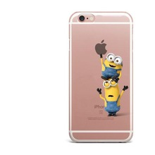 Funny Despicable Me Hard Case for iPhone X 10 5 5S SE 6 6SPlus 7 7Plus 8 8Plus Cover