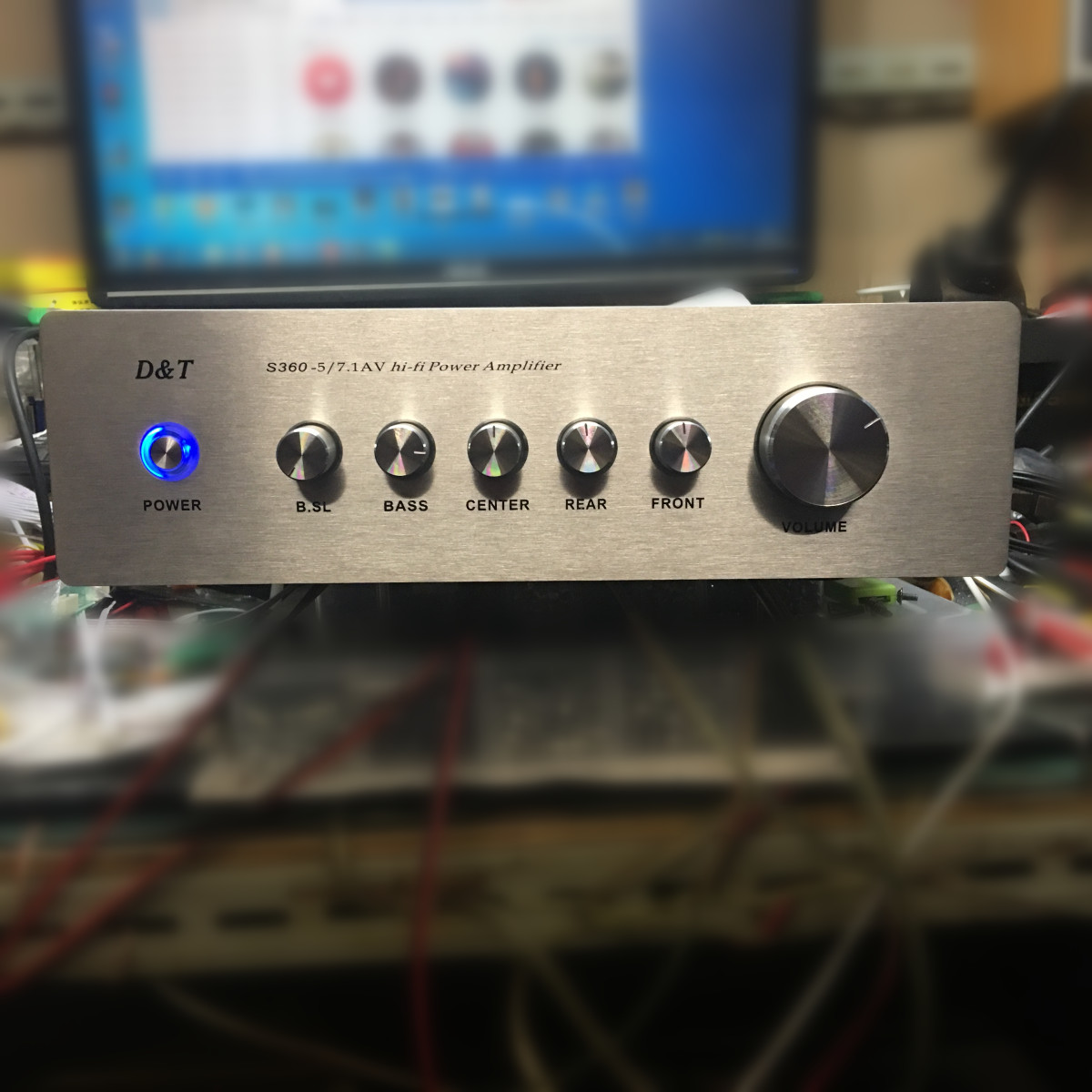 где купить 5.1 digital amplifier 6-channel home theater audio amplifier finished machine 220v дешево