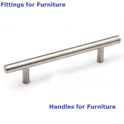 250mm 160mm Diameter 12mm Furniture Hardware Large Stainless Steel T Bar Handle Drawer