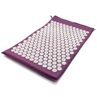 Massager Cushion Acupressure Mat Relieve Stress Pain Acupuncture Spike Back Body Massage Relieve Stress Tension Pain