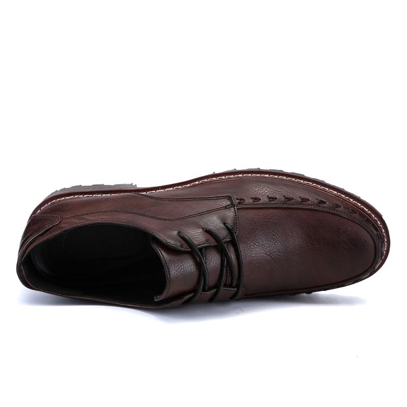 2018 пролетта мъже бизнес марка - Мъжки обувки - Снимка 2