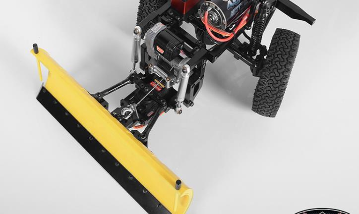 for TAMIYA Clodbuster//Bullhead Aluminum Snow Plow with 2 servos