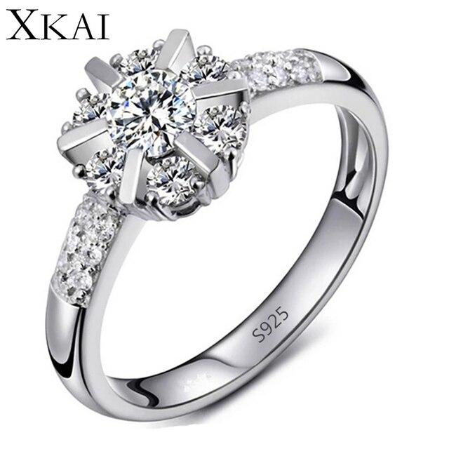 Обручальные кольца для женщин платиновым покрытием vintage bague Обручальное CZ алмазный женские Украшения кольца модные Аксессуары подарок XK033
