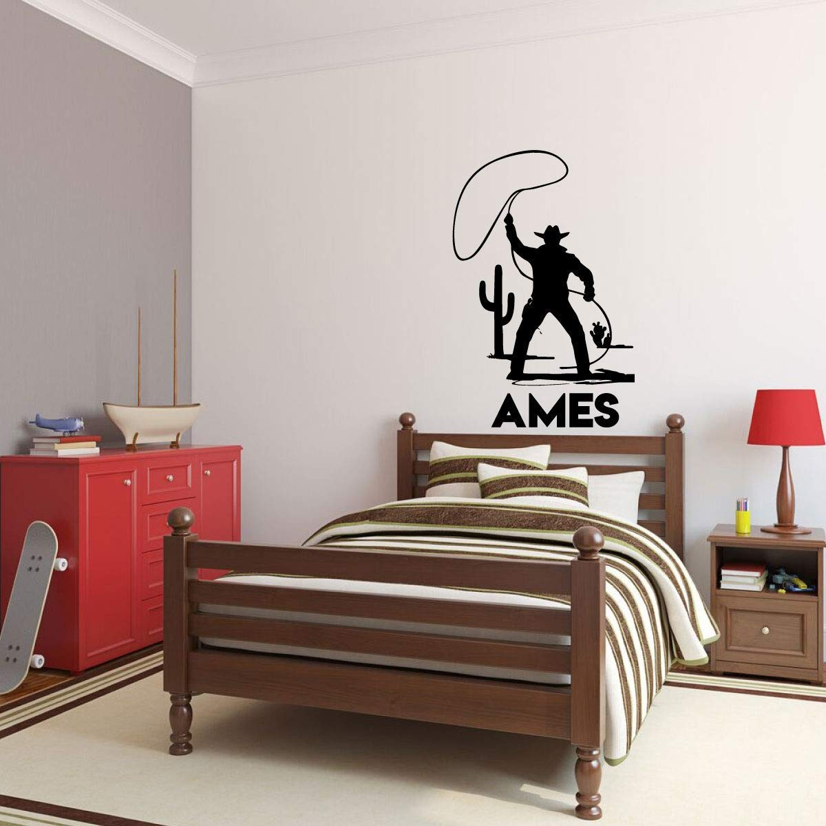 Wall Decal ames Wall Sticker Self Adhesive Vinyl Waterproof Wall Art Decal Nursery Room Decor Removable Decor Wall Decals