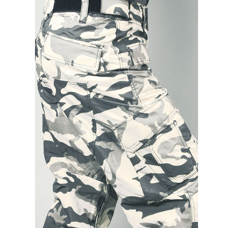 Newest Edition Southplay Winter Waterproof -Skiing- Snowboard Warming White Military Pants ...