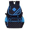 Легкий моды dot детские школьные сумки для подростков износостойкий нейлон мультфильм ранцы для девочек путешествовать рюкзаки