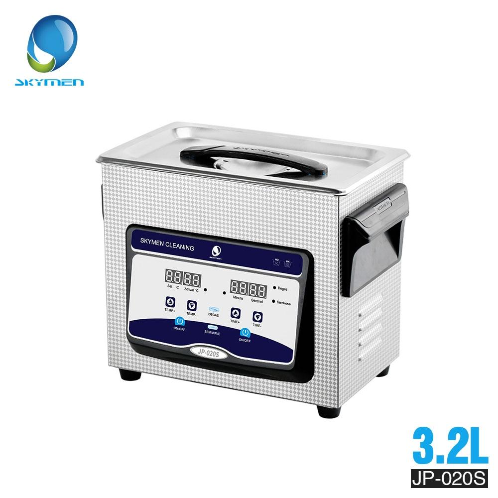 Skymen3L 3.2L nettoyeur à ultrasons numérique bain en acier inoxydable pour montre bijoux dentaire avec chauffage