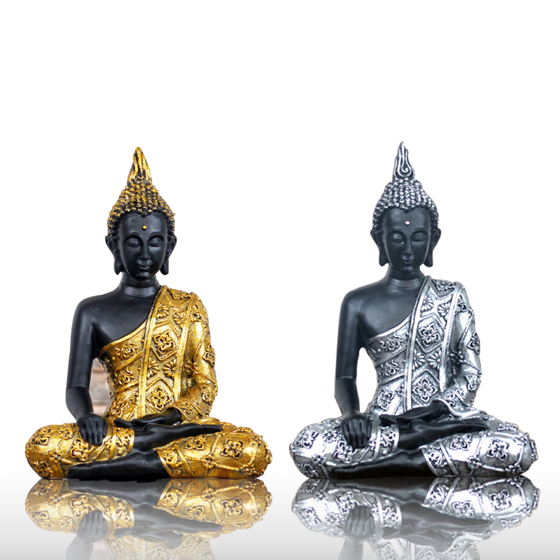 new handmade buddha statue resin home decoration southeast asia