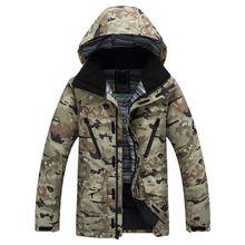 Jacket Men Ski jacket Skiing Clothing Outdoor Sports Ski snowboard 10K waterproof windproof -30 winter Ski Costume for men