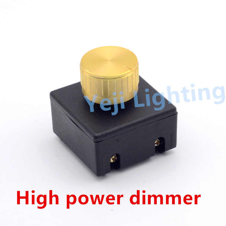 Wholesale High Quality Save AC Power Dimmer Switch for Table lamp switch Hotel bedside switch 60-500W lighting accessories DIY