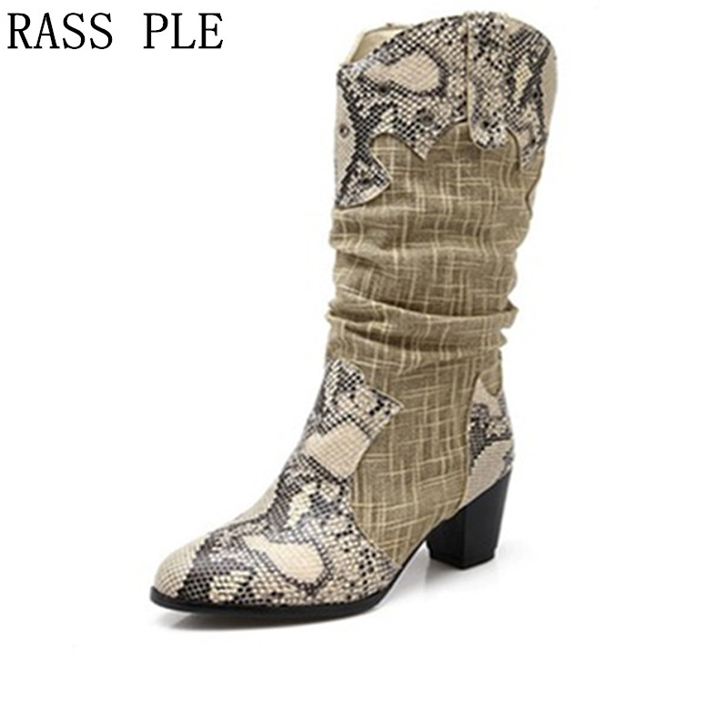 Popular Cowboy Boots Women-Buy Cheap Cowboy Boots Women lots from ...