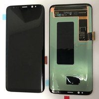 Original Lcd With Frame For Samsung Galaxy S8 Display S8 G950 G950F Touch Screen Digitizer With Service Pack