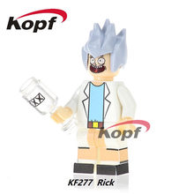 20Pcs Building Blocks Super Heroes Rick And Morty Yellow Flash Magic Teacher Bricks Best Collection Toys for children Gift KF277(China)