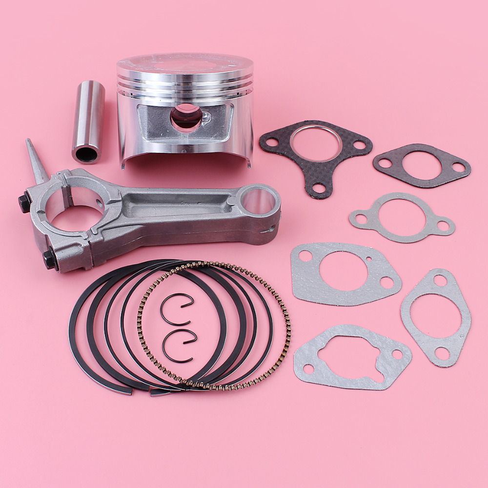 Kit de joint de carburateur dadmission de silencieux de Piston de la bielle 88mm pour Honda GX390 13HP GX 390 partie de moteur 13101-ZF6-W00Kit de joint de carburateur dadmission de silencieux de Piston de la bielle 88mm pour Honda GX390 13HP GX 390 partie de moteur 13101-ZF6-W00