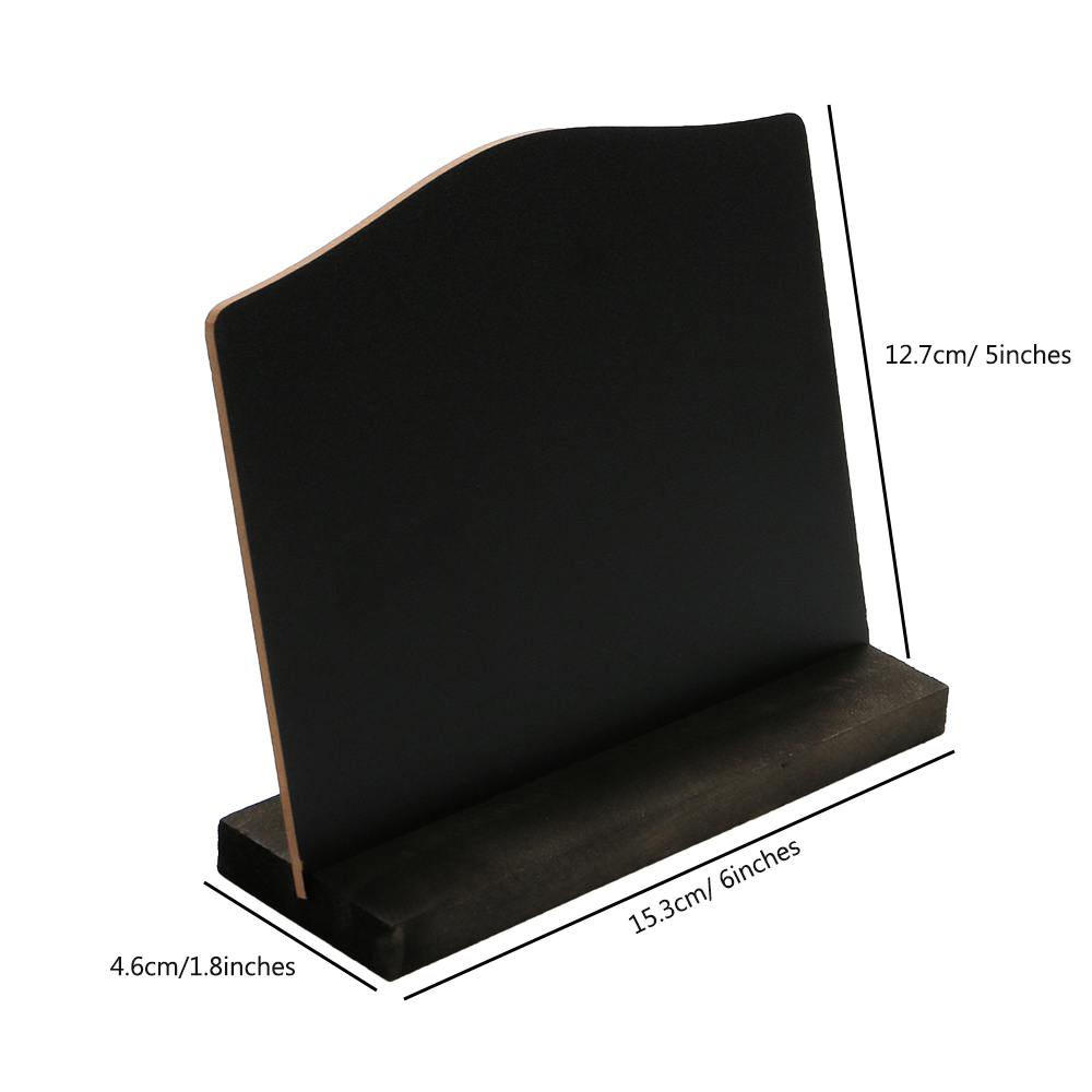 Office & School Supplies A6 Table Top Blackboard Stand Menu Stand Price Display Chalk Notice Board Counter Top Bulletin Board Desk Sign Poster Stand Delicious In Taste