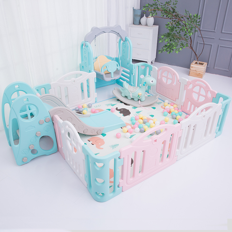 Baby Family Amusement Park Child Safety Fence Home Crawling Mat Baby Indoor Protection Bar Combination Equipment Amusement Toys