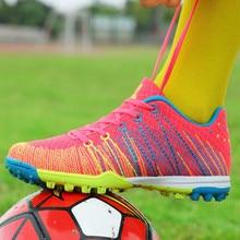 Voetbalschoenen voor kinderen Ademend Indoor Training Voetbalcleats Jongen Meisje Turf Gebroken nagel Superfly Voetbal Sportschoenen