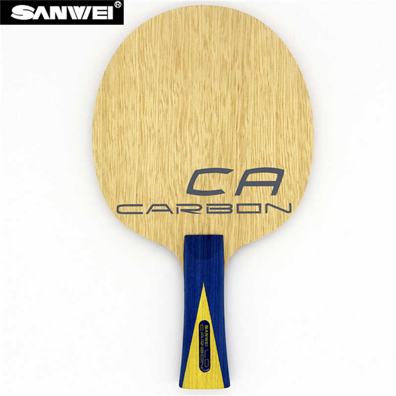SANWEI CA LD Table tennis blade 5 plywood+ 2 LD carbon fiber Lymphoid surface ayous core all-round ping pong racket bat paddle