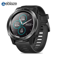Zeblaze VIBE 5 GREENCELL Heart Rate Monitor 1.3 inch IPS Full Round Color Display Target Setting Multi Sport Modes Smart Watch