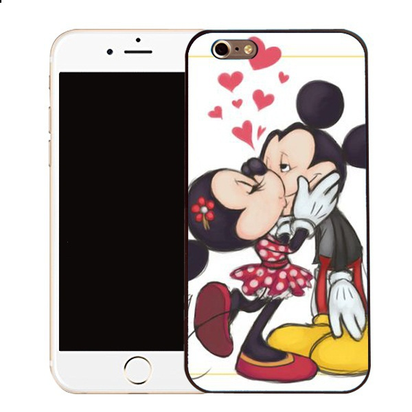 online store afd04 cec30 US $7.98 |Kissing Mickey Minnie Mouse case for Samsung Galaxy s2 s3 s4 s5  mini s6 edge Note 2 3 4 iPhone 4s 5s 5c 6 Plus iPod touch 4 5-in Mobile ...
