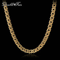 Top Quality New Design 18K Rose Gold Plated Semi Precious Necklaces Pendants Jewelry Lake Blue Crystal