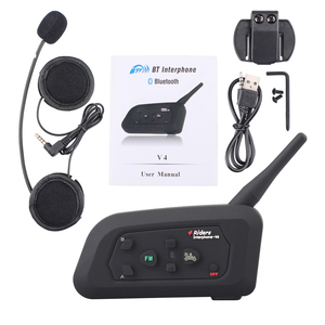 Image 5 - Fodsports V4 Wireless BT Intercom Full Duplex Communication Headset 4 Riders Talking At The Same Time Stereo Music With FM