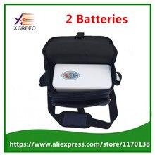 XGREEO XTY-BC 2 батареи домашнего использования мини портативный концентратор кислорода генератор машина
