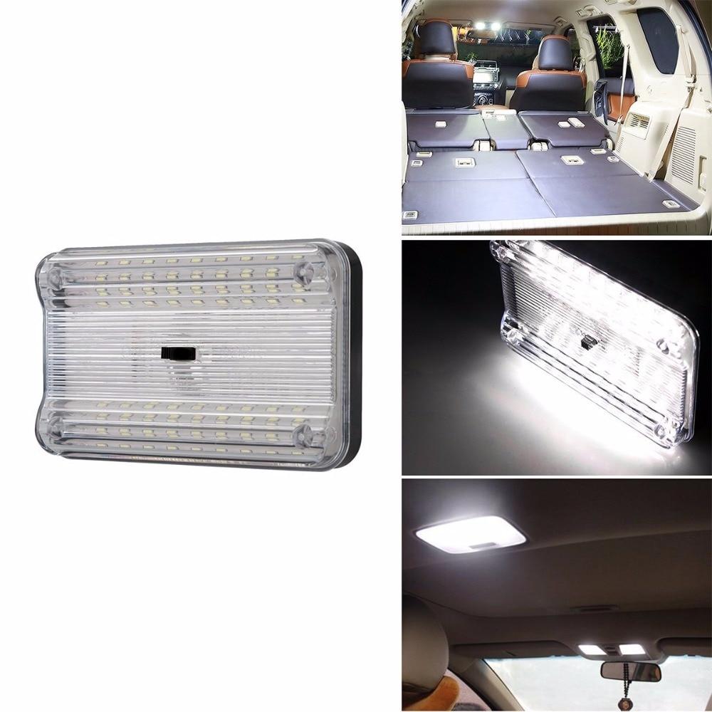 Lonleap Universal Car Reading Lights 12 V White LED Car Lamp Source font b Interior b