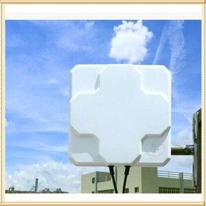 Image 3 - Наружная антенна MIMO 4G LTE 2 * 22dBi, LTE, двойная поляризационная панельная антенна, разъем SMA  Male (белый или черный), кабель 5 м