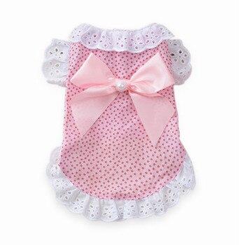 Sweet Bowknot Kitten Princess Lace Shirt