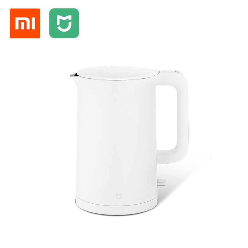 Original Xiaomi Mijia Electric Kettle 1.5L Household 304 Stainless Steel Insulated Water Kettle Fast Boiling APO Not Smart Model цена и фото