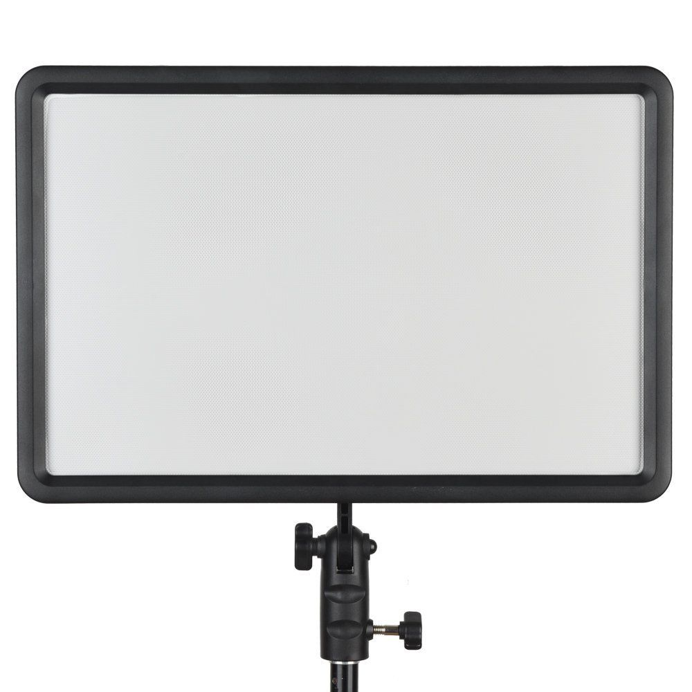Godox LEDP-260C 3300K~5600K Bi-Color LED Video Light Panel w/ AC Adapter Remote for Photography Photo Lighting Light