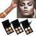 Hot Contour Corrector Crema Paleta Kit 4 Colores de Beverly Hills Imprimación Ana RESPLANDOR Medium Bronceador Highlighter Maquillaje de la Marca Conjunto