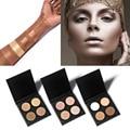 Hot Contour Cream Kit Palette 4Colors Beverly Hills Concealer Primer Ana GLOW KIT Medium Bronzer Highlighter Brand Makeup Set