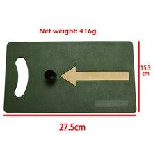 Golf Mat 15.3*27.5cm Backyard Training Hitting Pad Practice Rubber Tee Holder Grass Indoor Backyard Golf Swing Practice mat
