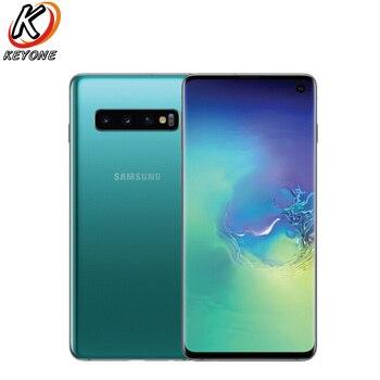 Купить Новый Samsung Galaxy S10 G973F-DS мобильный телефон 6,1 дюйм8 ГБ ОЗУ 128 Гб ПЗУ Exynos 9820 IP68 водонепроницаемый пылезащитный Android 9,0 две sim-карты